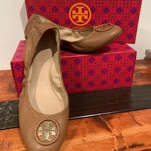 Tory Burch Allie Ballet Slip On Shoes size 9